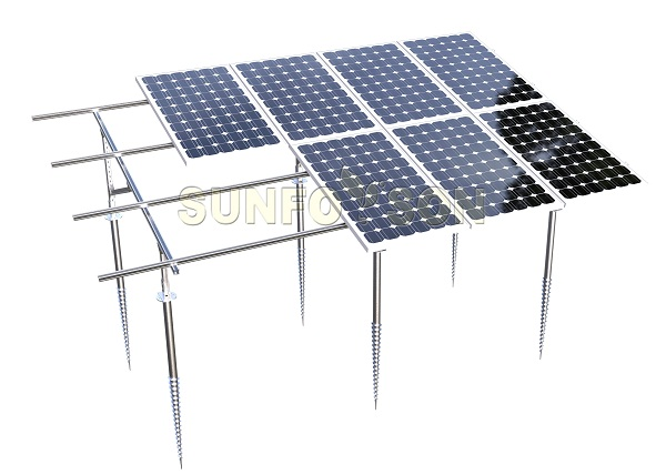 solar panel ground mount