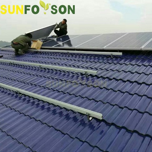 Pitched Roof Solar Mount