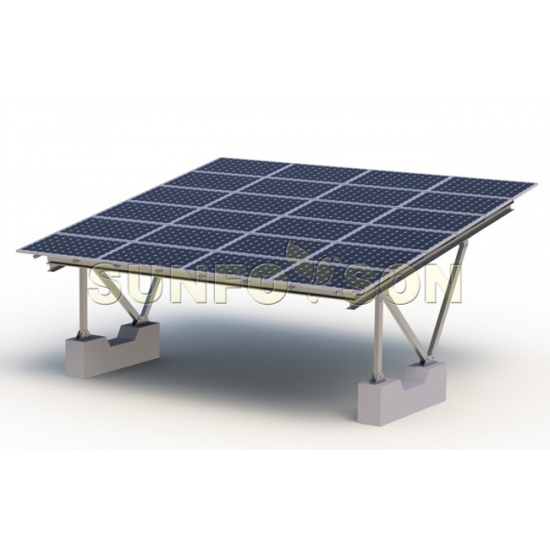 Support Structure for Solar Carport