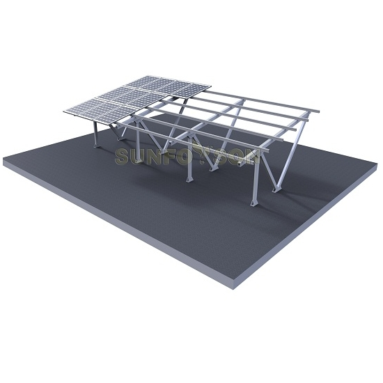 Solar Car Parking Roof Mounting Rack