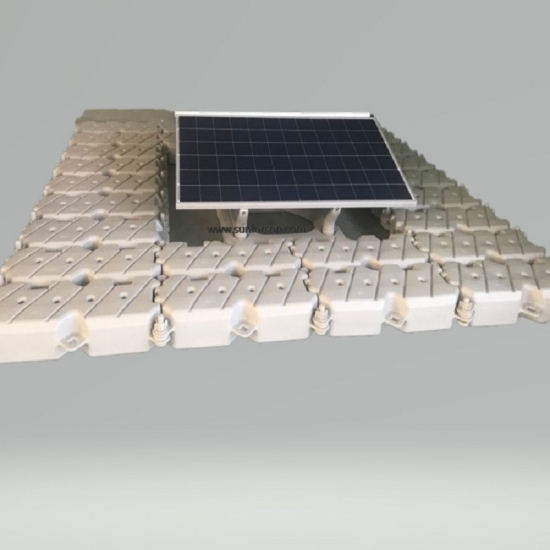 floating solar mounting structure